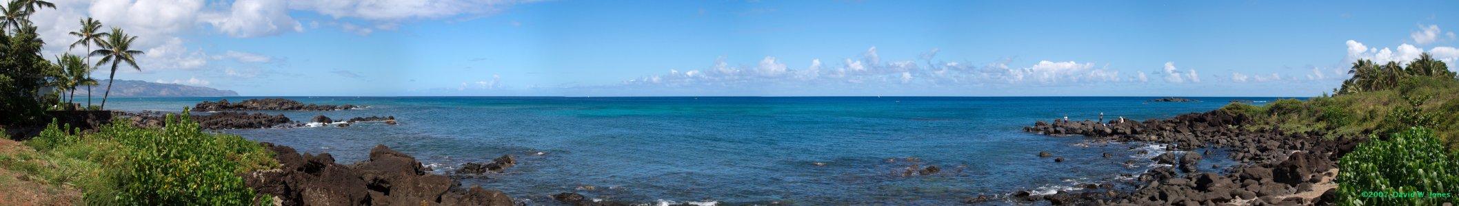 170 degree panoramic view of North Shore